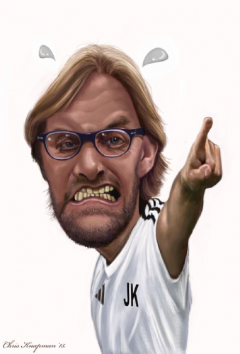 Football Caricature
